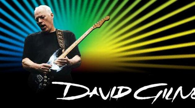 David Gilmour weWrocławiu
