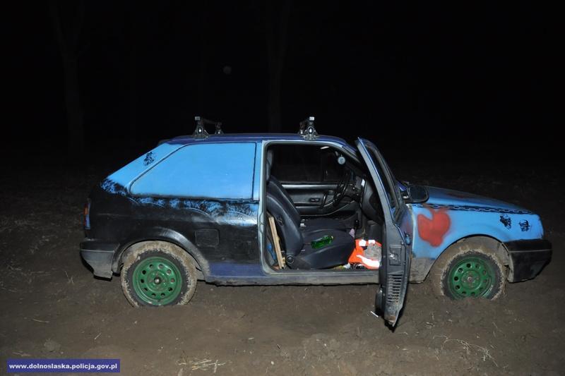 Odzyskali skradziony wNiemczech samochód