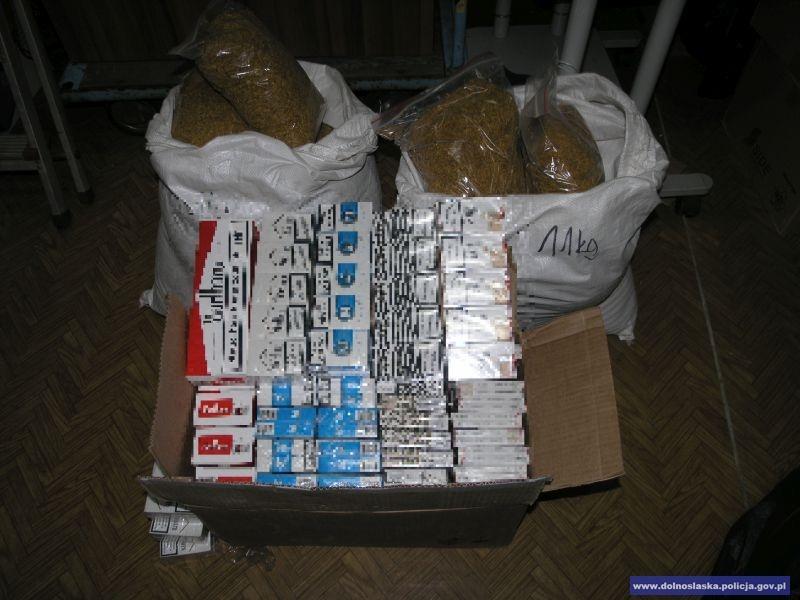 Przechwycili nielegalne wyroby tytoniowe