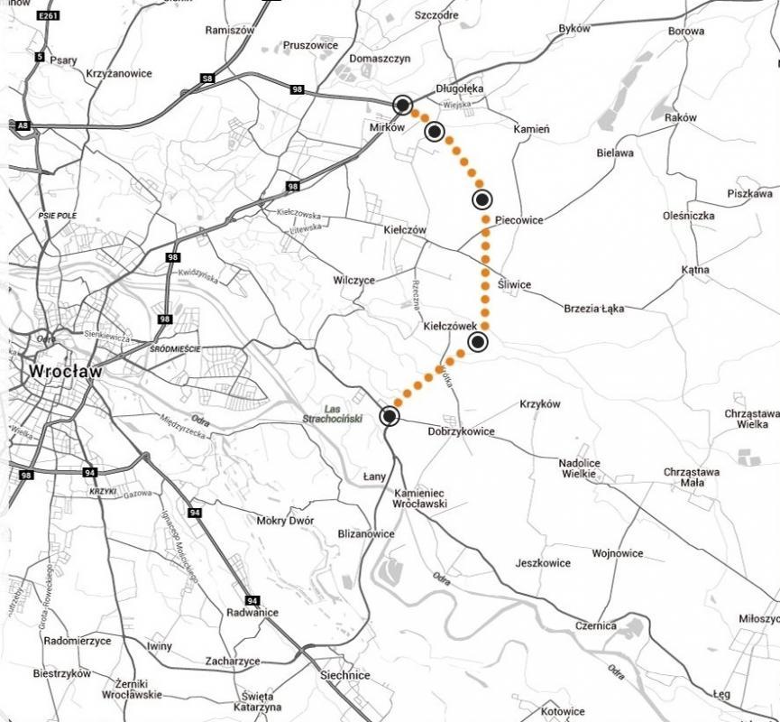 Wrocław - podpisano umowę na budowę północnego odcinka Wschodniej Obwodnicy Wrocławia