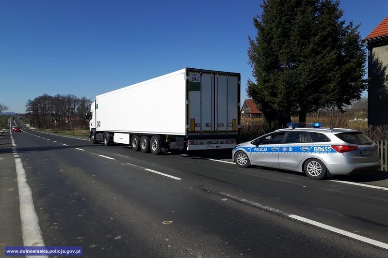 Kierowca TIR-a miał ponad 2 promile