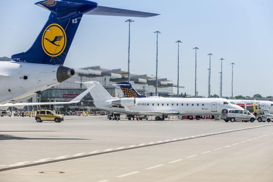 Lufthansa mocno stawia na Wrocław. Zimą częściej doFrankfurtu