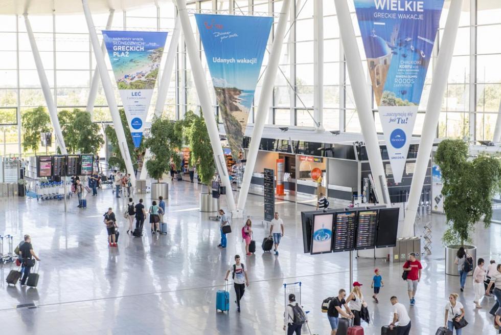 Ponad milion pasażerów na wrocławskim lotnisku