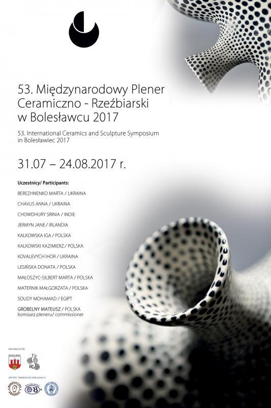 53. edycja Międzynarodowego Pleneru Ceramiczno - Rzeźbiarskiego