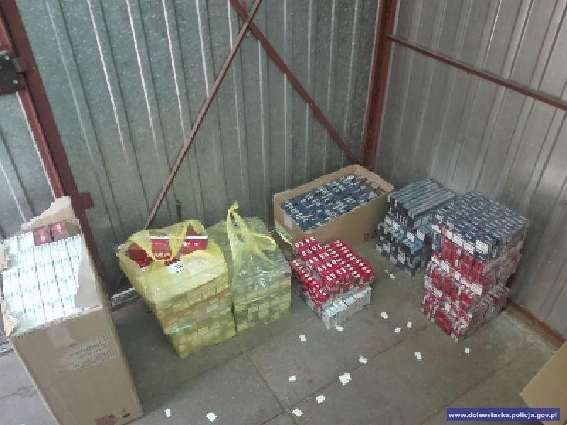 Ponad 103 tys. sztuk nielegalnych papierosów