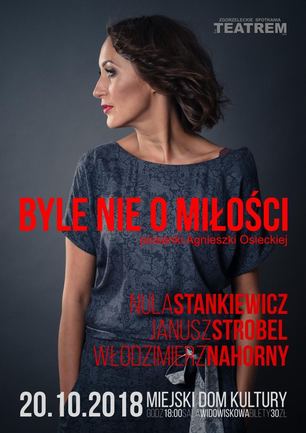 Nula Stankiewicz - Byle nie omiłości – piosenki Agnieszki Osieckiej