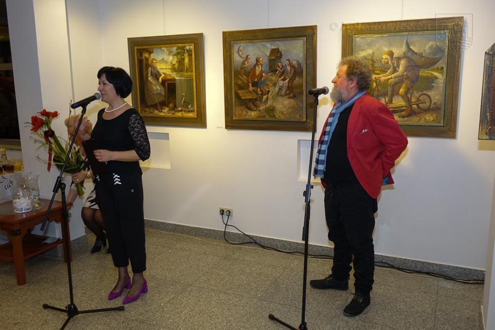 Wystawa Dariusza Milińskiego wBOK-MCC