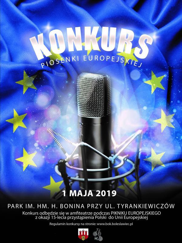 Zaproszenie doudziału wkonkursie piosenki europejskiej
