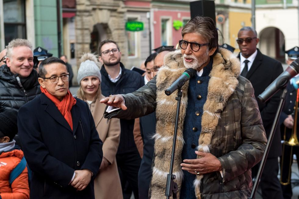 Legenda Bollywood gości weWrocławiu
