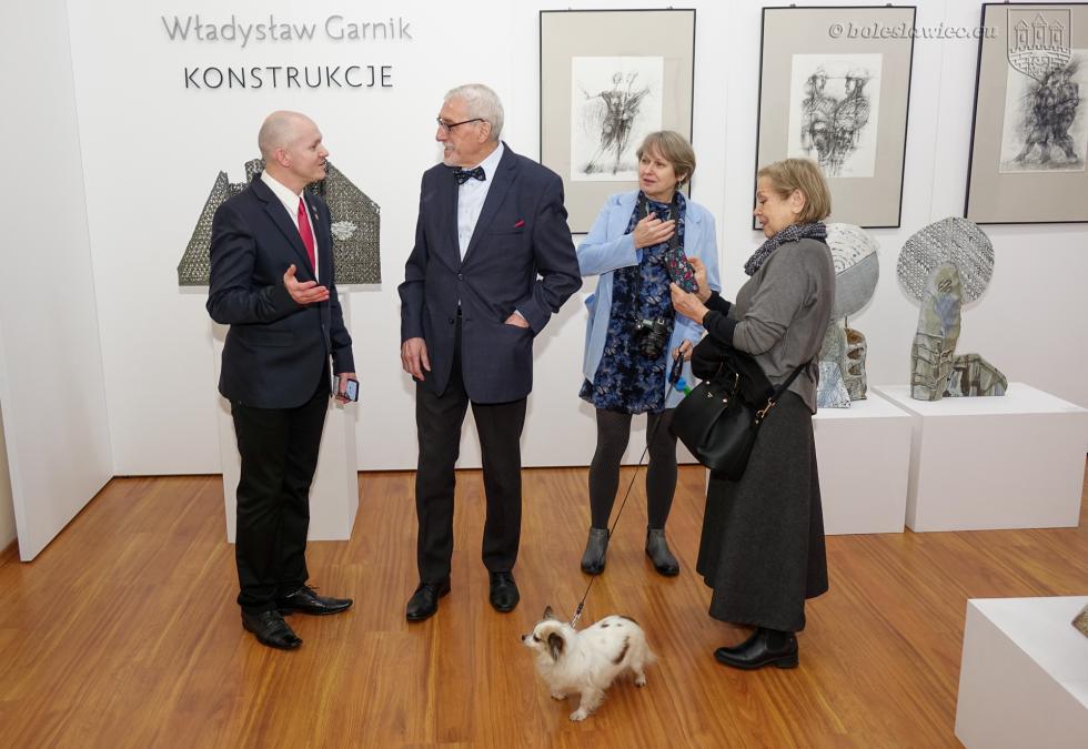 """W bolesławieckim muzeum wystawa """"Władysław Garnik – Konstrukcje"""""""